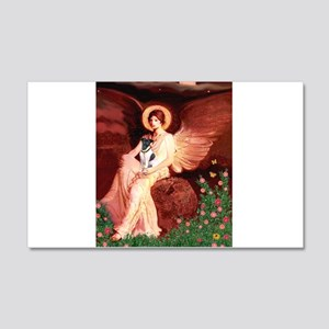 Angel / Smooth T (#1) 20x12 Wall Decal