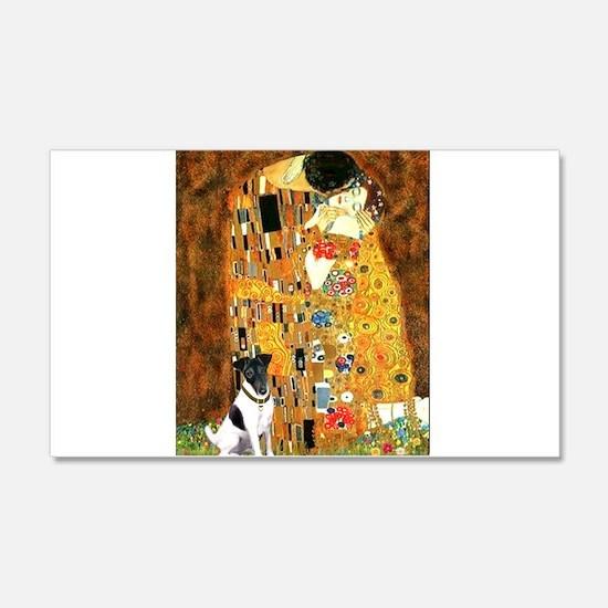 Kiss / Fox Terrier Wall Decal