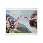 Creation / G-Shep Throw Blanket