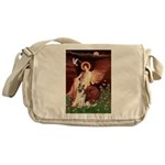 Seated Angel / G-Shepherd Messenger Bag
