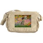 Garden/German Pointer Messenger Bag