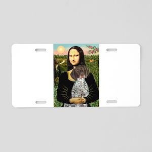 Mona / Ger SH Pointer Aluminum License Plate