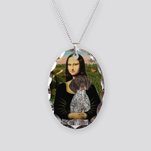 Mona / Ger SH Pointer Necklace Oval Charm