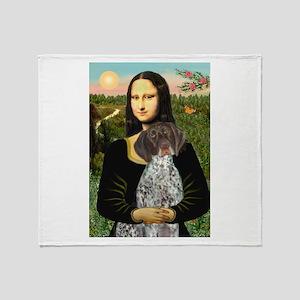 Mona / Ger SH Pointer Throw Blanket