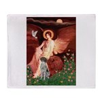 Angel / Ger SH Pointer Throw Blanket