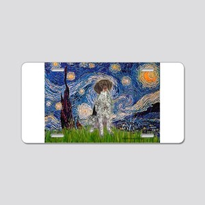 Starry Night /German Short Aluminum License Plate