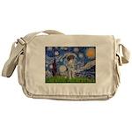 Starry Night /German Short Messenger Bag