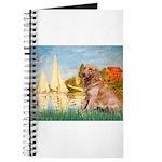 Sailboats (#2) & Golden Journal