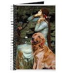 Ophelia & Golden Retriever Journal
