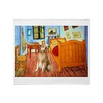 Room / Golden Throw Blanket