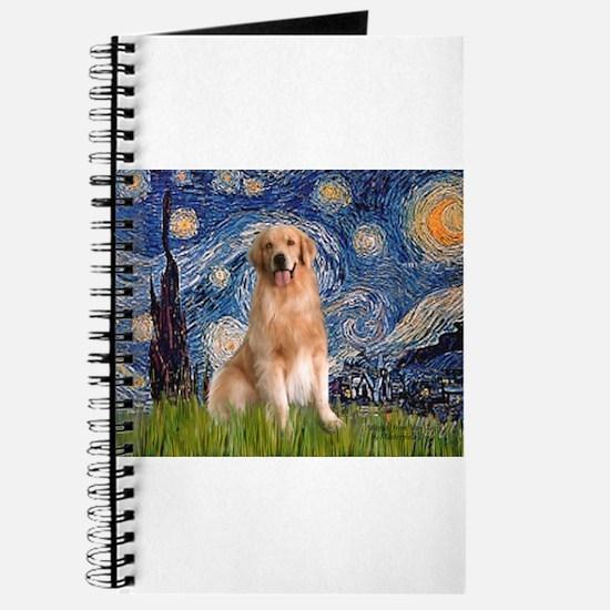 Starry Night / Golden Journal