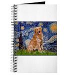 Starry Night Golden Journal