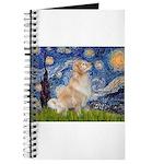 Starry Night & Golden Journal