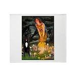 Midsummer / G Dane Throw Blanket