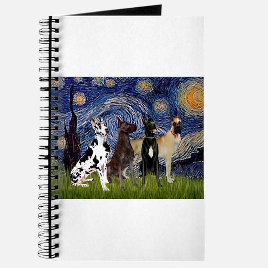 Starry / 4 Great Danes Journal