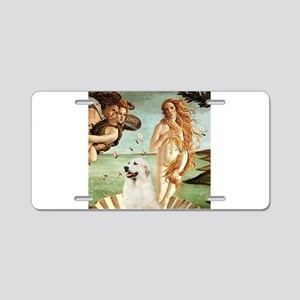 Venus / Great Pyrenees Aluminum License Plate