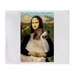 Mona / Gr Pyrenees Throw Blanket