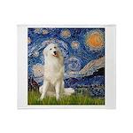 Starry Night / Pyrenees Throw Blanket