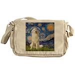 Starry Night / Pyrenees Messenger Bag