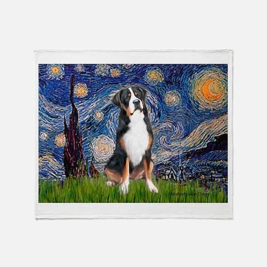 Starry Night / GSMD Throw Blanket