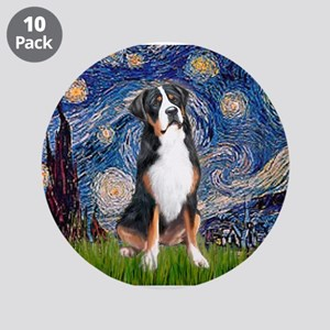 """Starry Night / GSMD 3.5"""" Button (10 pack)"""