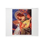 Mandolin / Ital Greyhound Throw Blanket