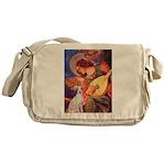 Mandolin / Ital Greyhound Messenger Bag