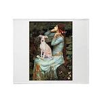 Ophelia / Italian Greyhound Throw Blanket