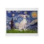 Starry Night / Ital Greyhound Throw Blanket