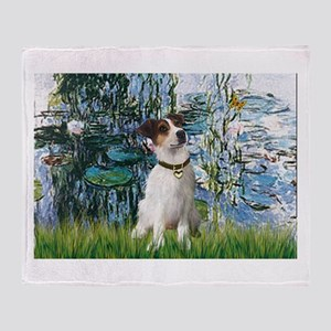 Lilies / JRT Throw Blanket