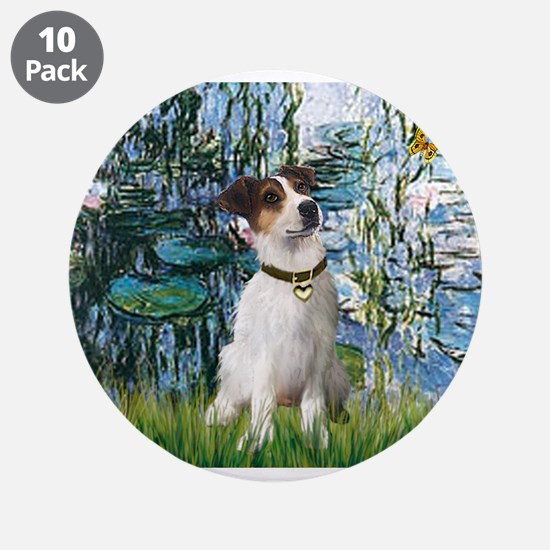 "Lilies / JRT 3.5"" Button (10 pack)"