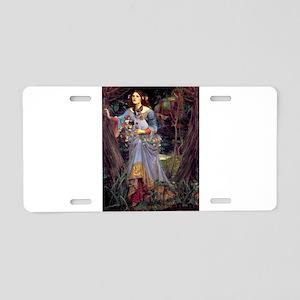 Ophelia / JRT Aluminum License Plate