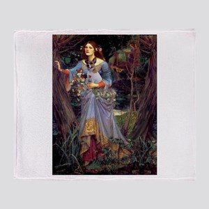 Ophelia / JRT Throw Blanket