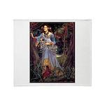 Ophelia / JRT Throw Blanket