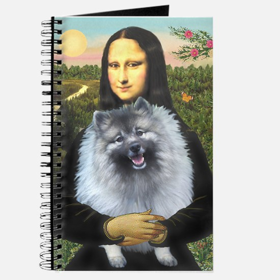Mona Lisa / Keeshond (F) Journal