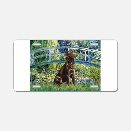 Bridge / Labrador (Choc) Aluminum License Plate