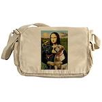 Mona / Labrador Messenger Bag