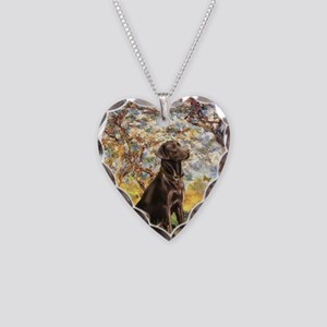 Spring / Choc Lab 11 Necklace Heart Charm