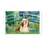 Bridge / Lhasa Apso #4 20x12 Wall Decal