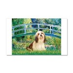 Bridge / Lhasa Apso #4 Car Magnet 20 x 12