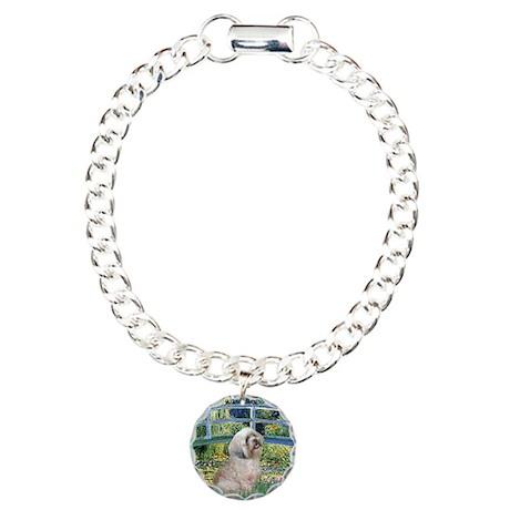 Bridge / Lhasa Apso Charm Bracelet, One Charm
