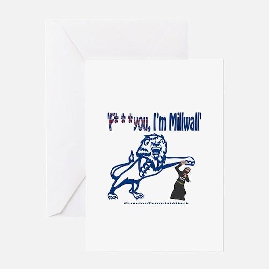 FU, I'm Millwall Greeting Card