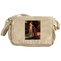The Accolade & Lhasa Apso Messenger Bag