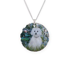 Lilies #1 - Maltese (B) Necklace