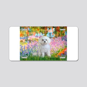 Garden / Maltese Aluminum License Plate