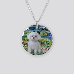 Bridge / Maltese Necklace Circle Charm