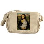 Mona Lisa / Maltese Messenger Bag
