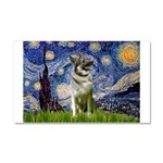 Starry / Nor Elkhound Car Magnet 20 x 12