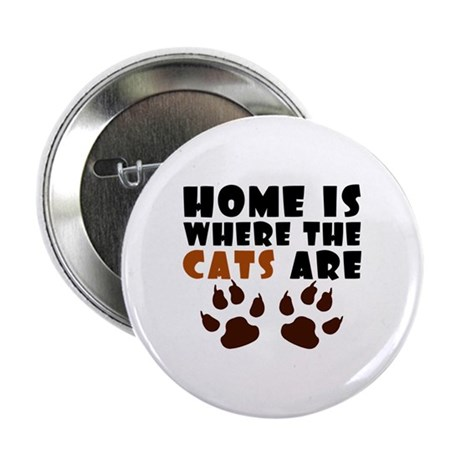 """'Where The Cats Are' 2.25"""" Button (10 pack)"""