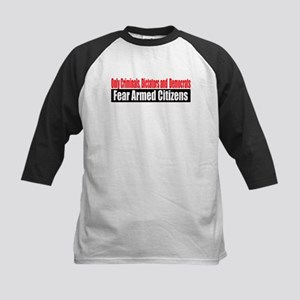 They Fear Armed Citizens Kids Baseball Jersey